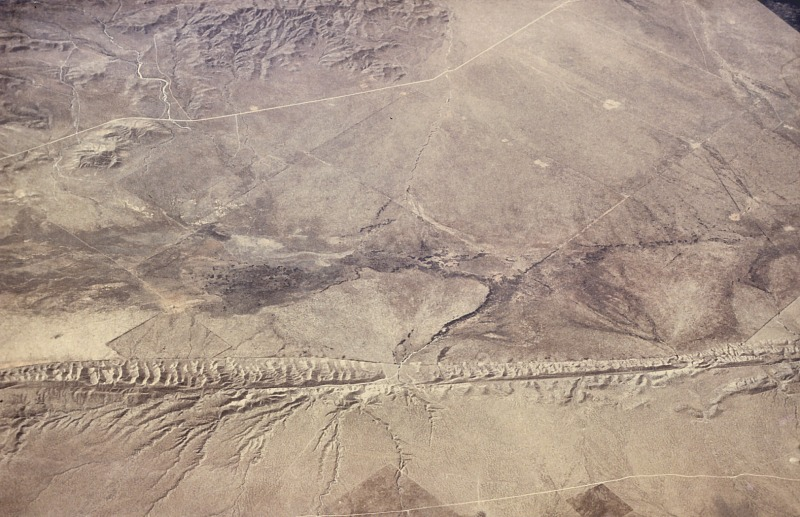 San Andreas Fault from the air