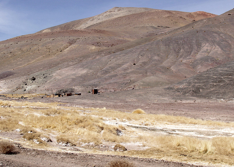 Dwelling of pastoralists in the Atacama Highlands