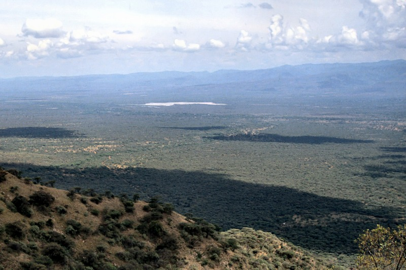 Kerio Valley and Tugen Hills in Rift Valley,Kenya