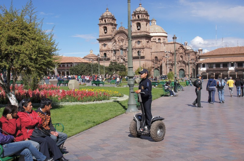 Central square of Cusco, Plaza de Armas